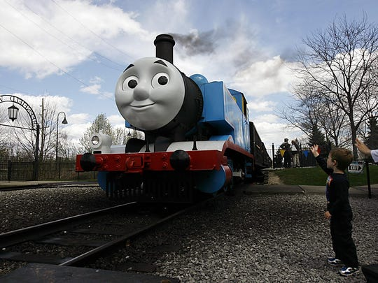 "More than 1,000 pounds of school supplies are headed to the Flint-area along with characters from the popular children's show ""Thomas & Friends."""