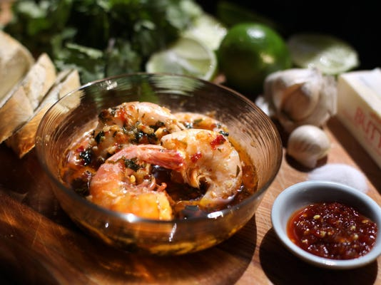 Test Kitchen recipe: Shrimp soaks in buttery Sambal sauce