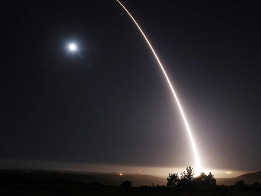 US test-launches ICBM off California to show ability to defend against attacks