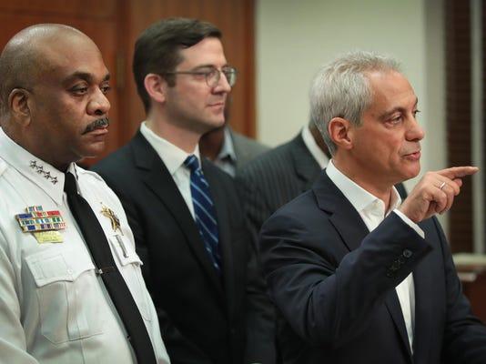 Chicago Mayor Rahm Emanuel Announces Lawsuit Against US Justice Department