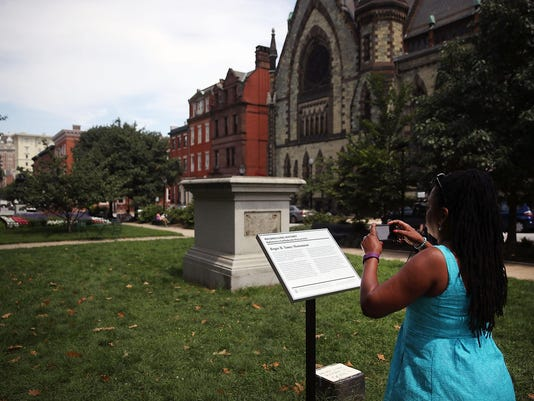 Confederate Monuments Taken Down In Baltimore