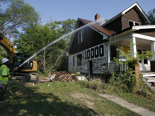 The demolition program came under scrutiny in the fall 2015 amid concerns over bidding practices and soaring costs.