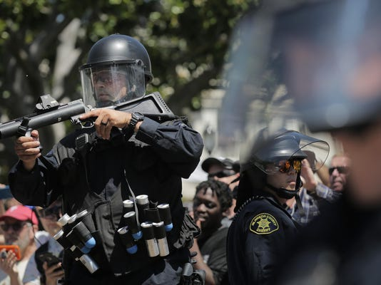 Alt Right Protesters Stage Rally In Berkeley