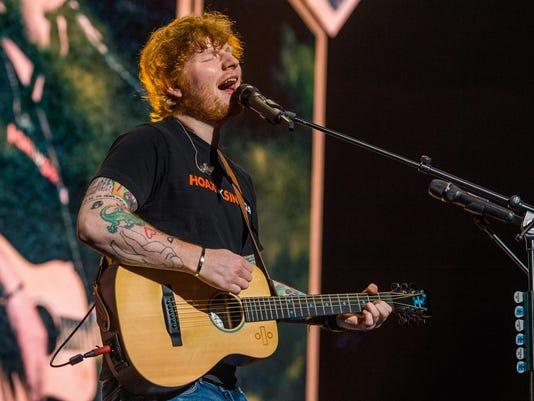 Ed Sheeran North American Arena Tour