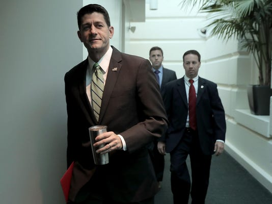 House Speaker Paul Ryan And GOP House Leadership Address The Media After Their Weekly Conference Meeting