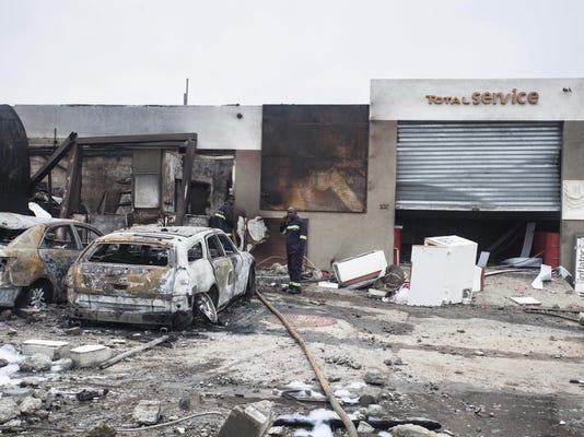 Ghana Explosion