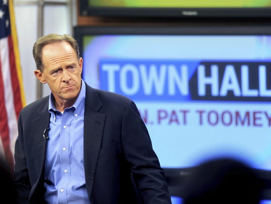 Toomey Town Hall Man Removed