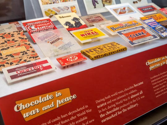 The show spotlights some common chocolate products