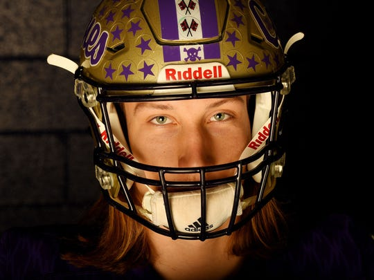 12/12/17 12:52:54 PM -- Cartersville, GA, U.S.A  -- Trevor Lawrence of Cartersville High School is one of our All USA TODAY football player of the year candidates. --   Mandatory Credit: John David Mercer-USA TODAY Sports