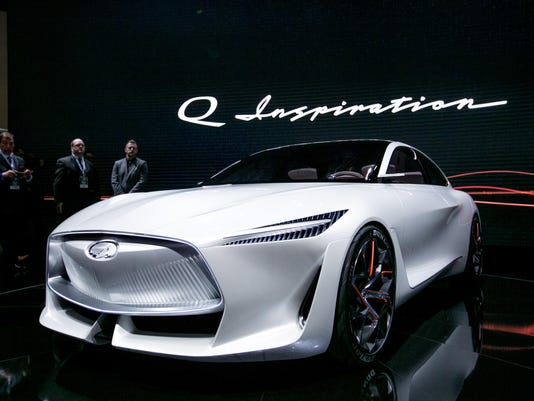 Infiniti says it will go 'all electric'