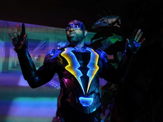 """Cress Williams stars as a more mature kind of superhero in """"Black Lightning."""""""