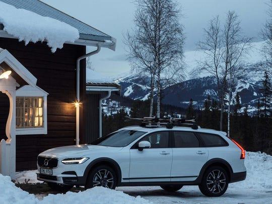 Volvo's V90 Cross Country is just one model in an increasingly