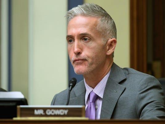 FILE: Rep. Trey Gowdy (R-SC) Announces He Won't Seek Re-election