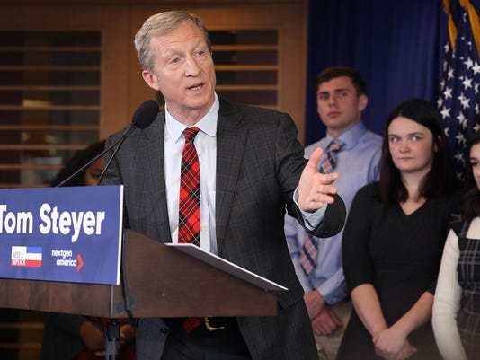 Anti-Trump Activist Tom Steyer Makes Announcement On His Political Future