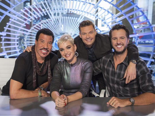 "Lionel Richie, left, Katy Perry, Ryan Seacrest and Luke Bryan will return for season three of ""American Idol"" on ABC in spring 2020."