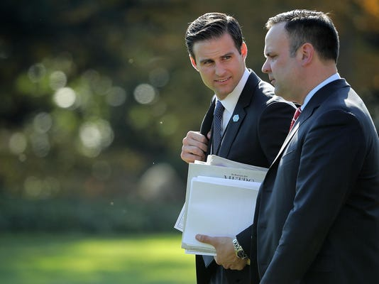 FILE: John McEntee, Personal aide to President Trump, Is Fired For Unspecified Security Reasons
