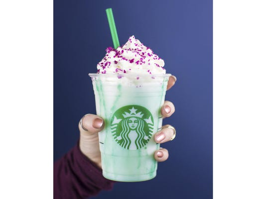 CORRECTION Starbucks New Gimmick Beverage