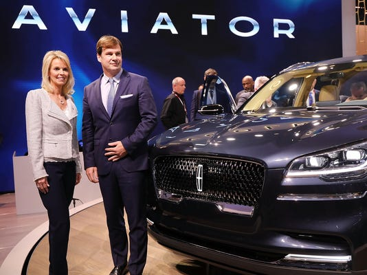 Automobile Manufacturers Debut Latest Models At The New York International Auto Show