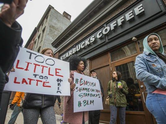 Starbucks-Black Men Arrested