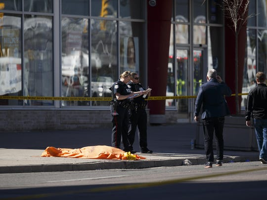 Nine Killed After Rental Van Plows Into Pedestrians On Toronto Street
