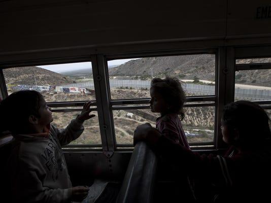 APTOPIX Mexico Migrants Caravan