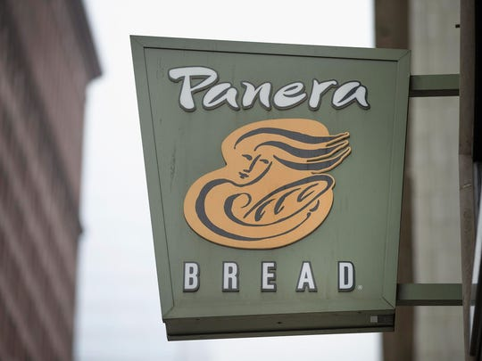 Avoid Panera's pastries and breads and stick to healthier menu options.
