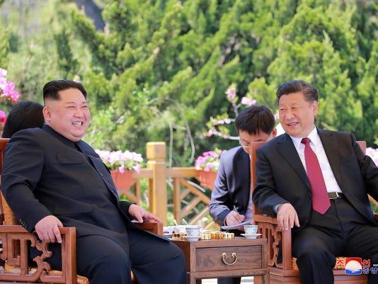 Kim Jong Un,Xi Jinping