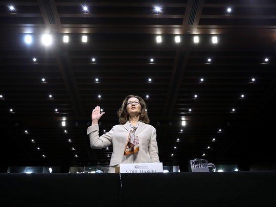 CIA Director Nominee Gina Haspel Testifies At Senate Confirmation Hearing