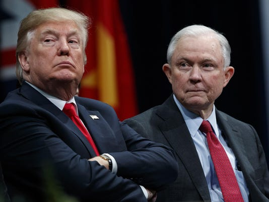 Donald Trump,Jeff Sessions