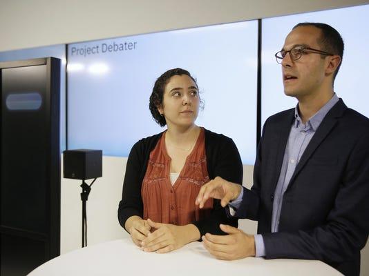 IBM Robot Debater