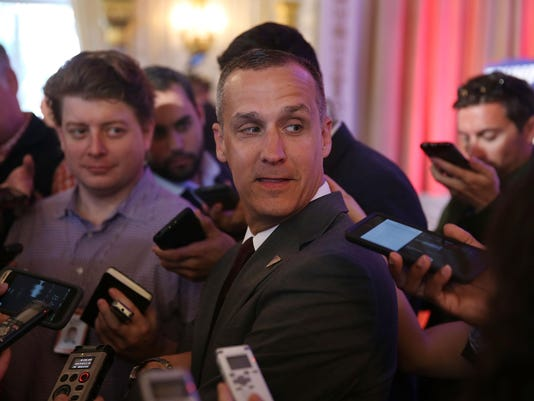 FILE PHOTO: Corey Lewandowski Charged With Battery