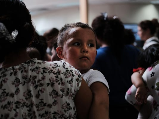 Despite Trump Executive Order, Over 2300 Migrant Children Still Held In Cam