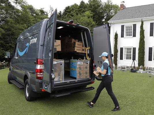 SmallBiz Amazon Delivery