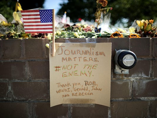 Annapolis Mourns The Loss Of Capital-Gazette Employees Killed By Gunman