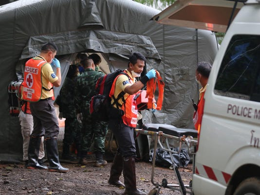 Thailand Cave Rescue: Evacuation of Soccer Team Begins