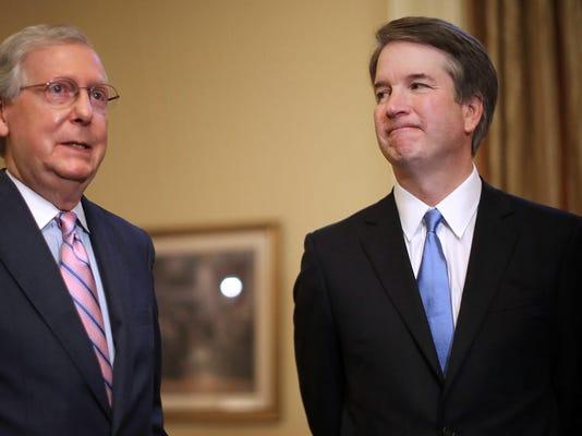 Supreme Court Justice nominee Brett Kavanaugh meets with US Senators