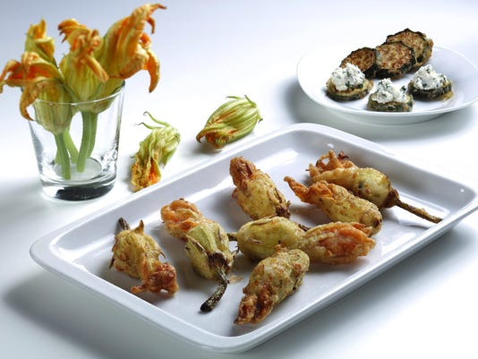 Fried squash blossom recipe turns something pretty into something even more beautiful