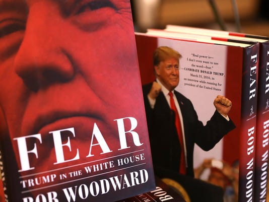 """Bob Woodward's Book """"Fear"""" On Trump Administration Hits Store Shelves"""
