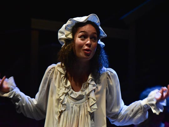 Liz Sierra stars as Charlotte Corday in the Binghamton