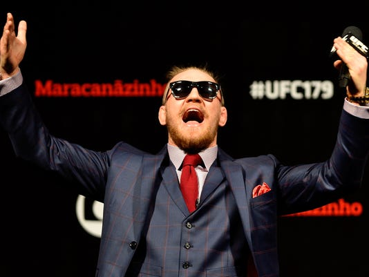 15 times Conor McGregor looked completely insane