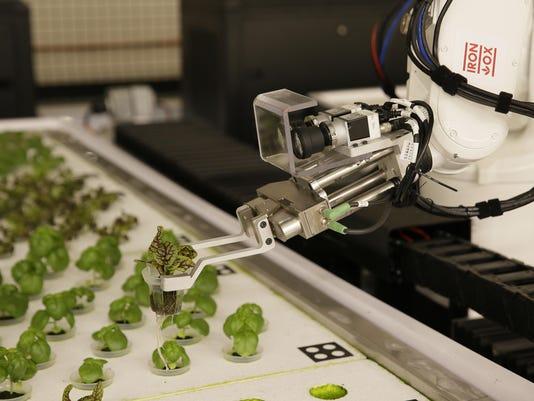 Robot Farmers