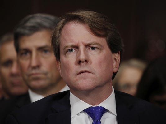 White House Counsel Don McGahn leaves the Trump administration