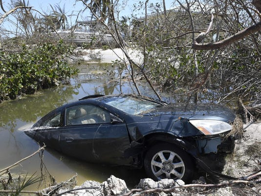 Beware of hurricane-damaged cars for sale