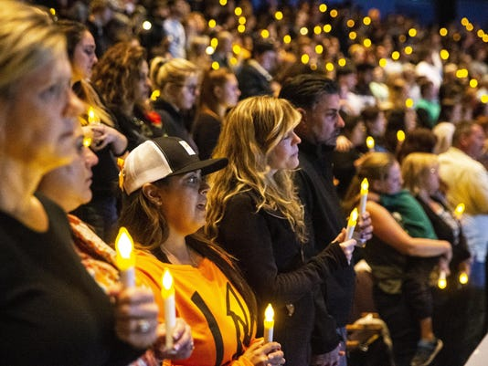 Gunman kills 12 in 'horrific' mass shooting at California bar packed with college students