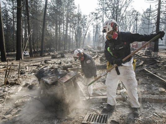 California's deadliest wildfire on record is contained, officials say