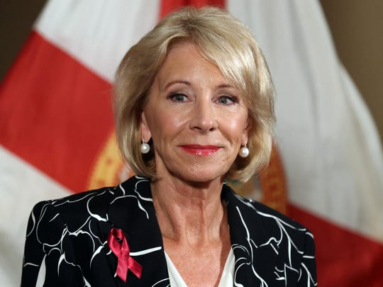 Student loan debt becoming a 'crisis,' DeVos says