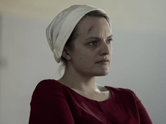 """Emily Moss in """"The Handmaid's Tale."""""""