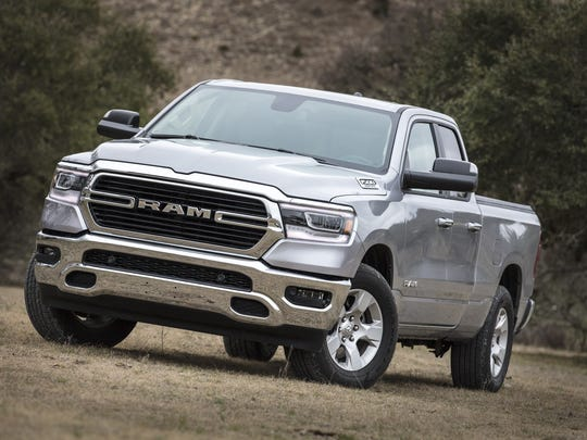Strong results for the all-new Ram 1500 pickup helped lift FCA's profit in North America.