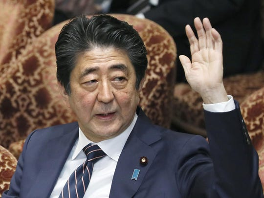 Japanese Prime Minister Shinzo Abe and his chief spokesman have declined to say if Abe nominated President Donald Trump for a Nobel Peace prize. Speaking in parliament on Monday, Abe said the Nobel committee has never in a half-century disclosed the identity of the person or groups behind such nominations.