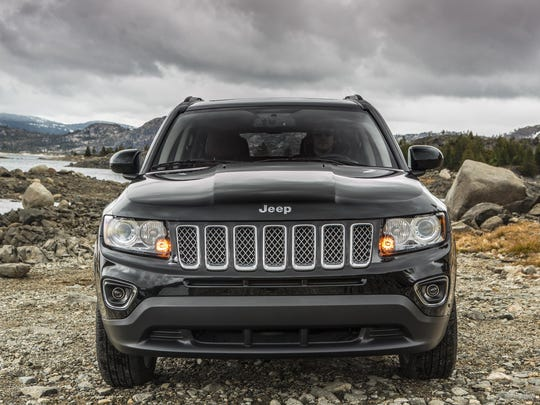 The 2016 Jeep Compass is among autos targeted to replace